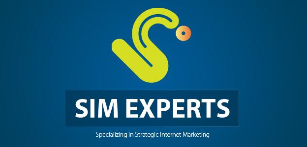 Projects: SIM Experts - Strategic Internet Marketing Experts Logo (Draft)