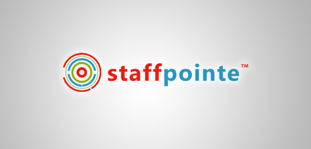 Projects: StaffPointe, LLC Logo Mockup